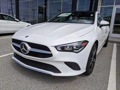 New 2020 Mercedes-Benz CLA 250 AWD 4MATIC