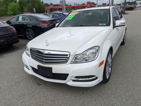 Pre-Owned 2013 Mercedes-Benz C 300 Luxury AWD 4MATIC