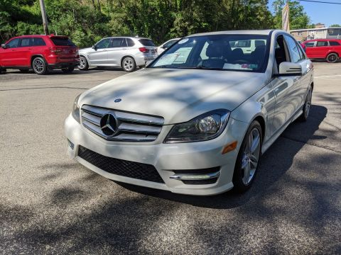 Pre-Owned 2012 Mercedes-Benz C 300 Sport AWD 4MATIC